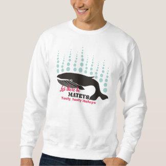 Grappige de orka smakelijke mateys van het trui