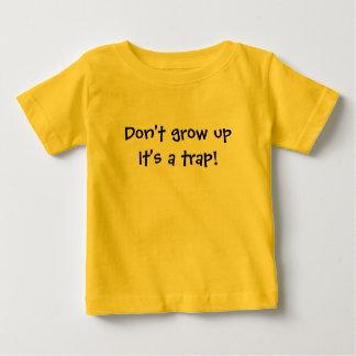 Grappige de T-shirt van kinderen groeit niet het