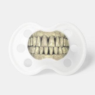 Grappige de Tanden van de schedel Fopspeentje