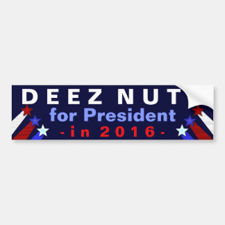 Grappige de Verkiezing van het President 2016 van Bumpersticker