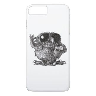 Grappige Dierlijke Koele Uil iPhone 8/7 Plus Hoesje