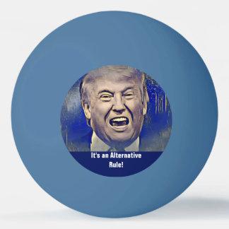 Grappige Donald Trump Alternative Rule Pingpongbal