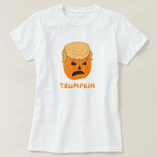 Grappige Donald Trumpkin Pumpkin Jack-o-lantern T Shirt