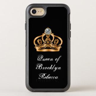 Grappige Elegante Koninklijke Koningin OtterBox Symmetry iPhone 7 Hoesje