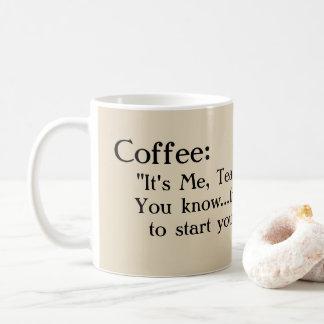 """""""Grappige en zoete koffiemok, voor mijn vriend! """" Koffiemok"""