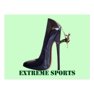 Grappige Extreme Sporten - het Beklimmen van de Briefkaart