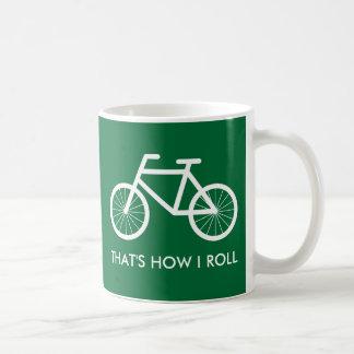 Grappige fietsmok voor fiets berijdende koffiemok