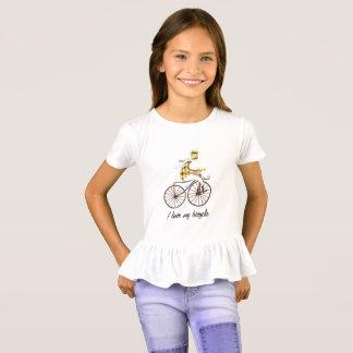 Grappige fietst-shirt I houdt van mijn fietsgiften T Shirt