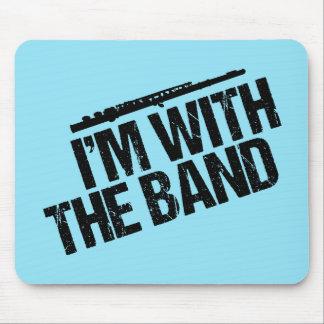 Grappige Fluit ben ik met de Band Muismat