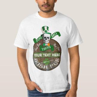 Grappige Gaëlische aanvallende St Patricks T Shirt