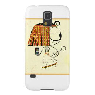 Grappige geek Egyptische keizerin Galaxy S5 Hoesje