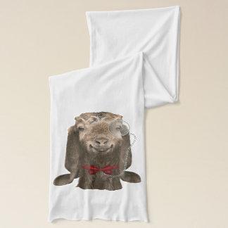 Grappige Geit Nubian met Monocle Sjaal