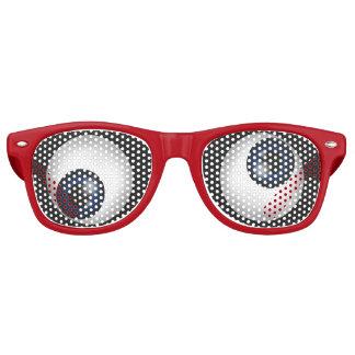 Grappige Gekke Ogen Retro Zonnebril