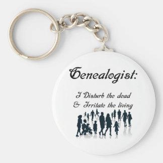 Grappige Genealogie Keychain Sleutelhanger