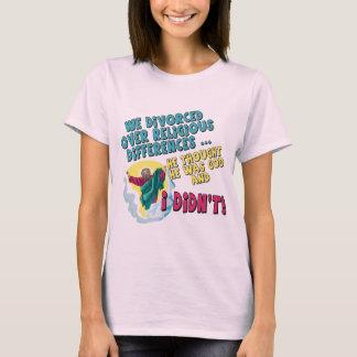 Grappige Gescheiden T-shirts en Giften voor haar