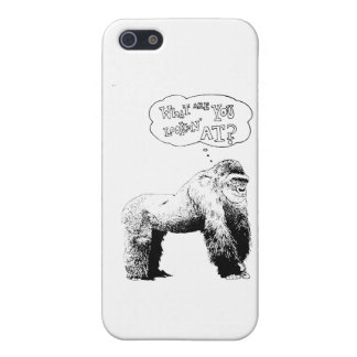 Grappige Gorilla iPhone 5 Cases