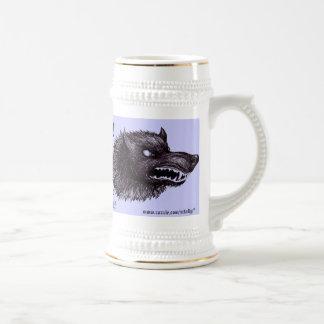 Grappige het biermok van de weerwolf bierpul