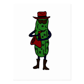 Grappige het Spelen van Groenten in het zuur Briefkaart
