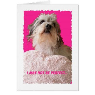 Grappige Hond Valentijn -- Al van u Valentijn Wenskaart