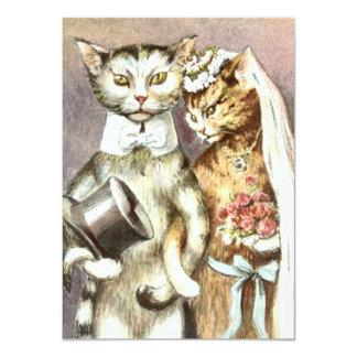 grappige huwelijksuitnodiging 11,4x15,9 uitnodiging kaart