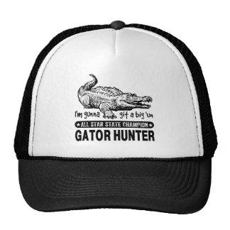 """Grappige Jager Gator - Gunna Git de Grote """"V.N. Trucker Cap"""