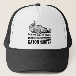 "Grappige Jager Gator - Gunna Git de Grote ""V.N. Trucker Pet"