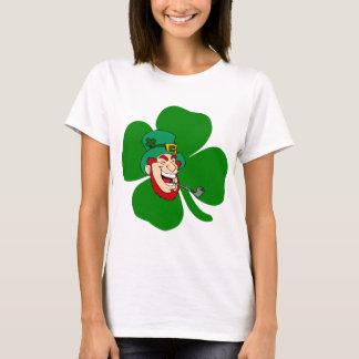 Grappige kabouter Ierse St Patricks T Shirt