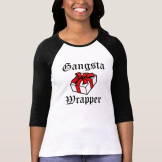 Grappige Kerstmis van de Omslag van Gangsta T Shirt