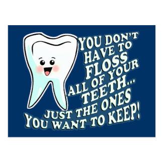 Grappige Kleding Prosthodontists Briefkaart