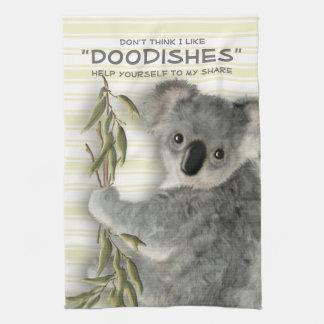Grappige Leuke Koala Theedoek