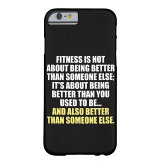 Grappige Motivatie van de geschiktheid Barely There iPhone 6 Hoesje