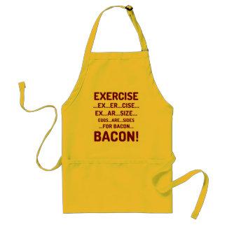 Grappige Oefening voor de Schorten van het Bacon