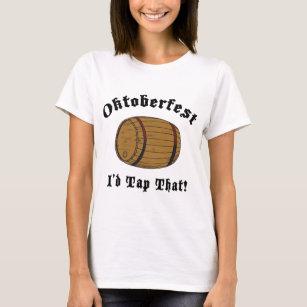 Grappige Oktoberfest zou ik Die T-shirt onttrekken