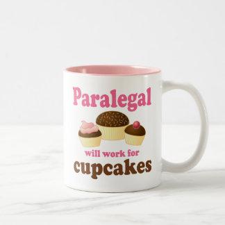 Grappige Paralegal Tweekleurige Koffiemok