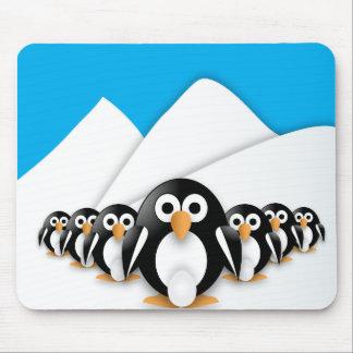 Grappige pinguïnen muismat