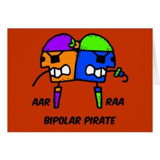 Grappige piraat kaart