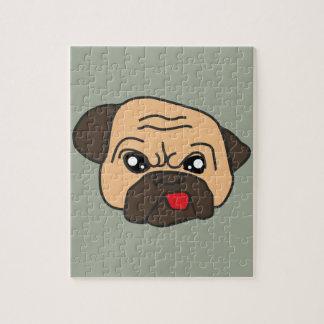 Grappige Pug Puzzels