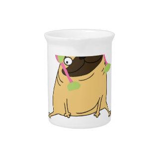 Grappige Pug van de Eenhoorn Pugicorn Drank Pitcher