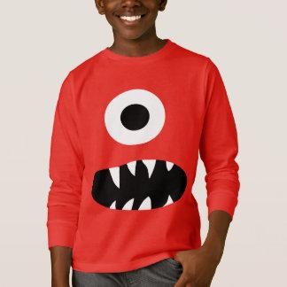 Grappige Reuze Eyed Kleurrijke Kind van het T Shirt