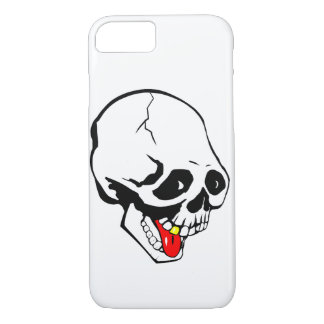 grappige schedel iPhone 8/7 hoesje