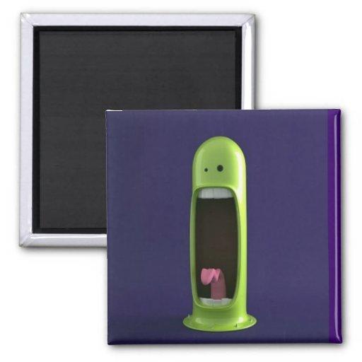 grappige schreeuw koelkast magneetje