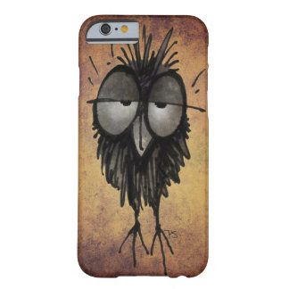 Grappige Slaperige Uil Barely There iPhone 6 Hoesje