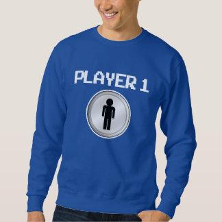 Grappige Speler 1 het overhemd van de Papa Trui