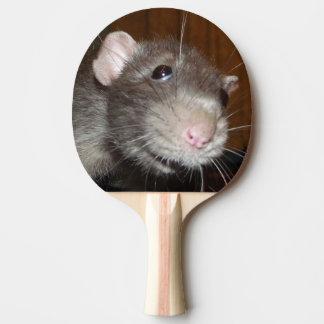 grappige /spiral van het rattengezicht tafeltennis bat