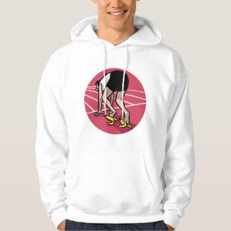 Grappige sprinter hoodie