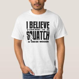 Grappige Squatch in Deze T-shirt van de Gelovige