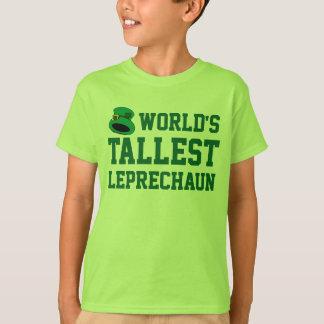 Grappige St. Patrick van het langste Kind van de T Shirt