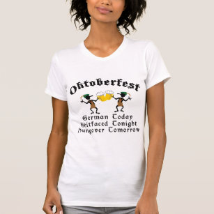 Grappige T-shirt Oktoberfest