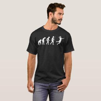Grappige T-shirt van de Evolutie van het handbal
