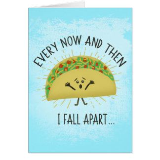Grappige Taco Misser You Briefkaarten 0